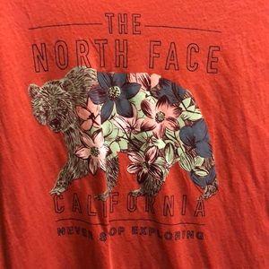 North face women's tee
